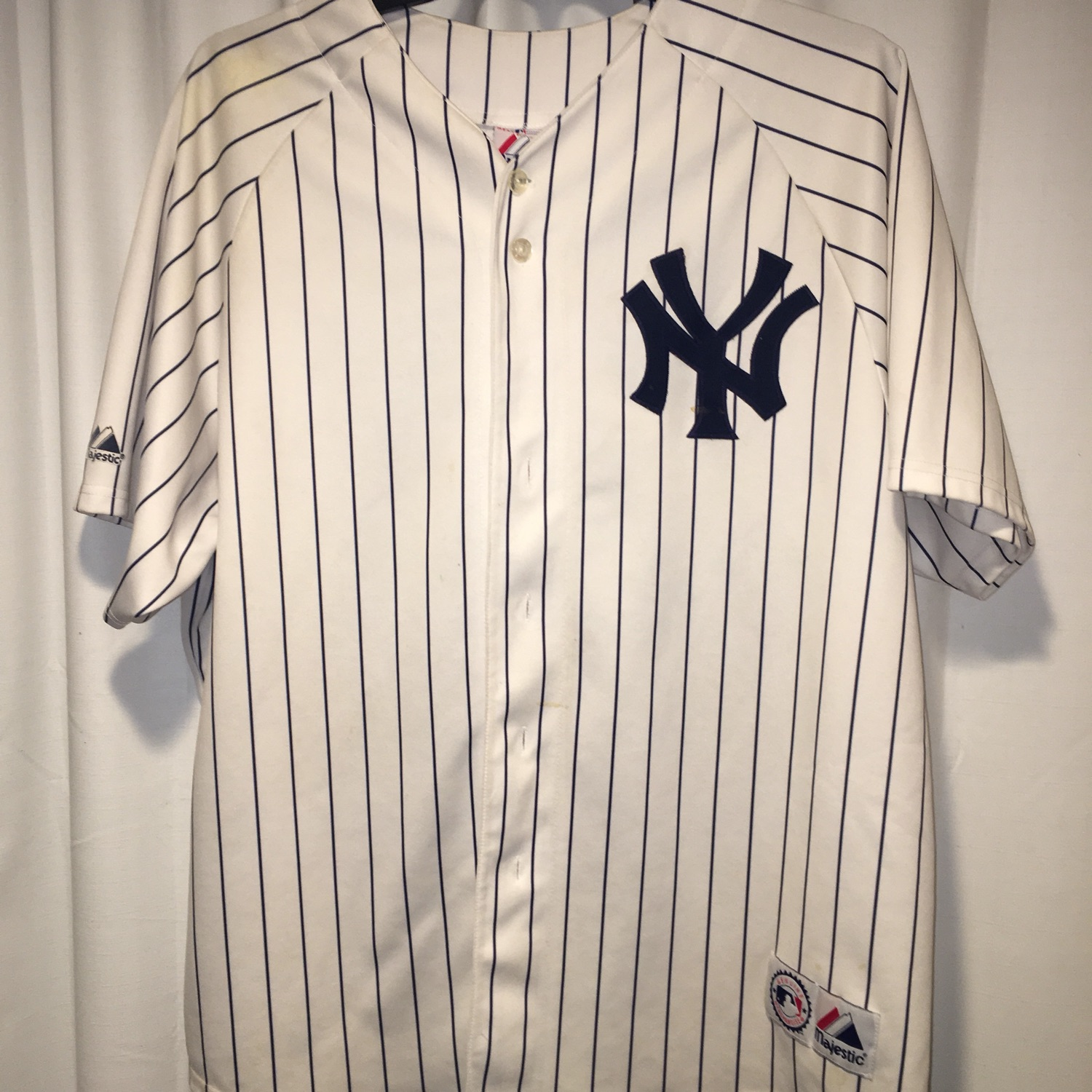 brand new 9a893 8342d Authentic Alex Rodriguez New York Yankees Jersey