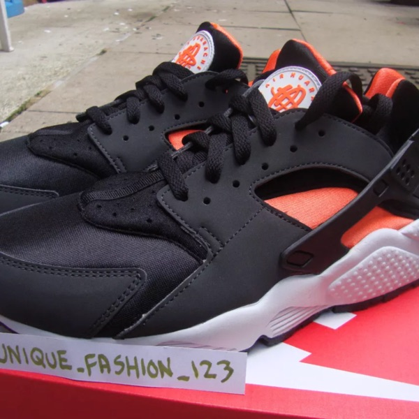 Nike Air Huarache Le Us7.5 Black