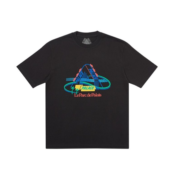 Palace French Ones T-Shirt Black