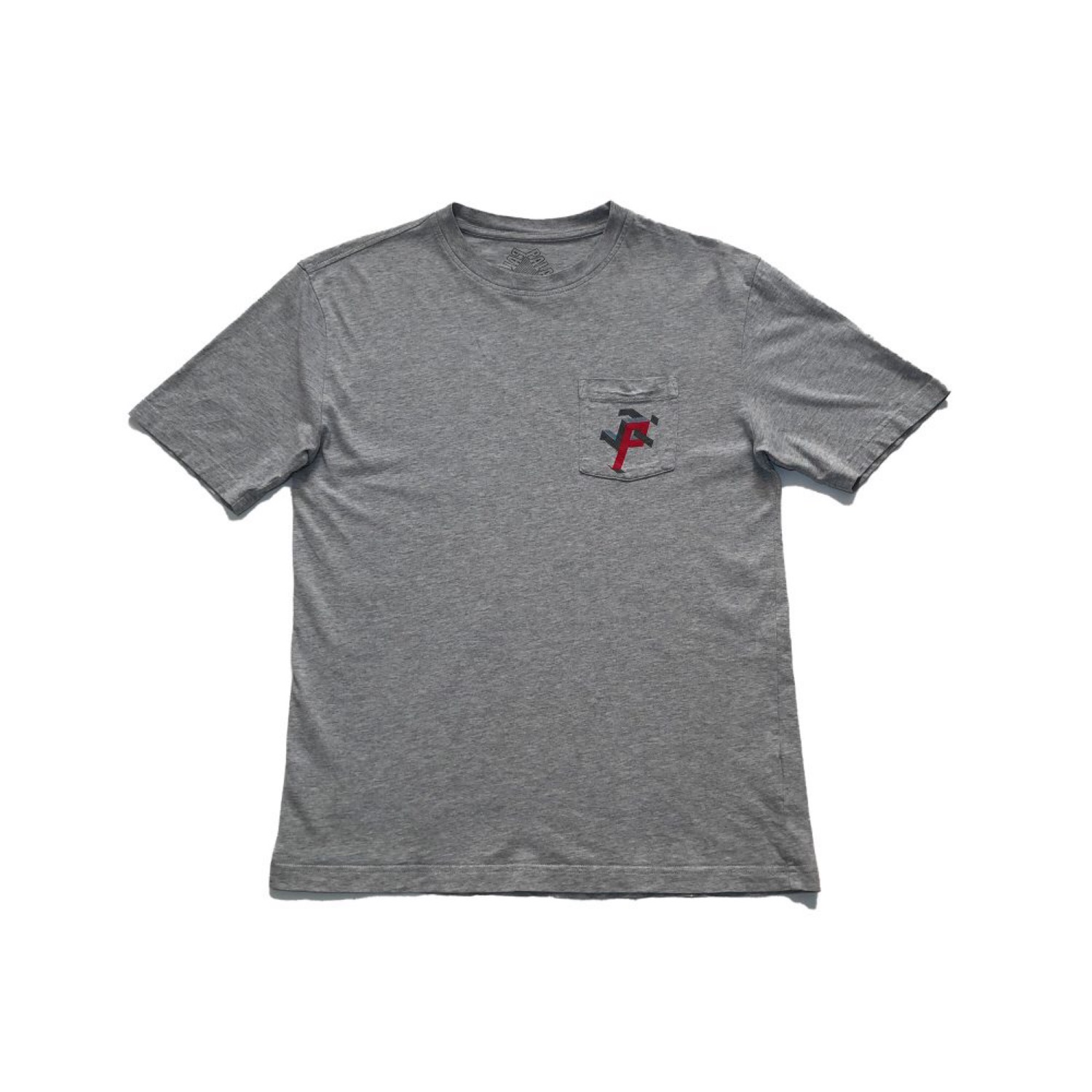 Palace P Man Pocket Tee Grey