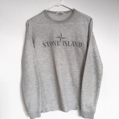 Stone Island Spell Out Jumper (Trades Accepted)
