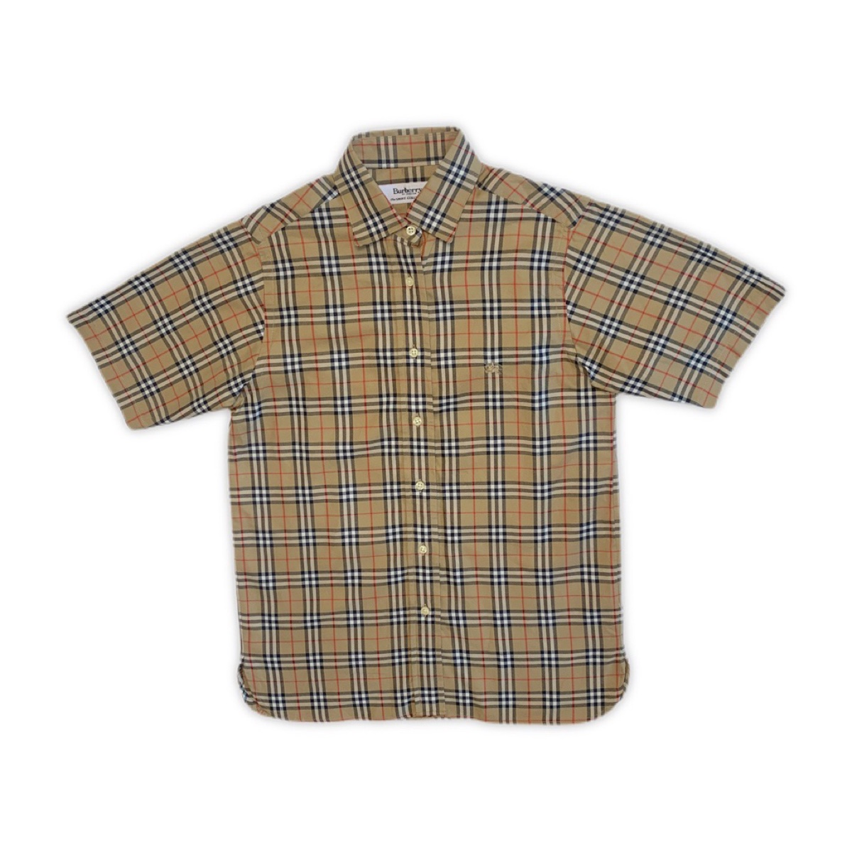 Vintage Burberry Nova Check SS Short Sleeve Shirt