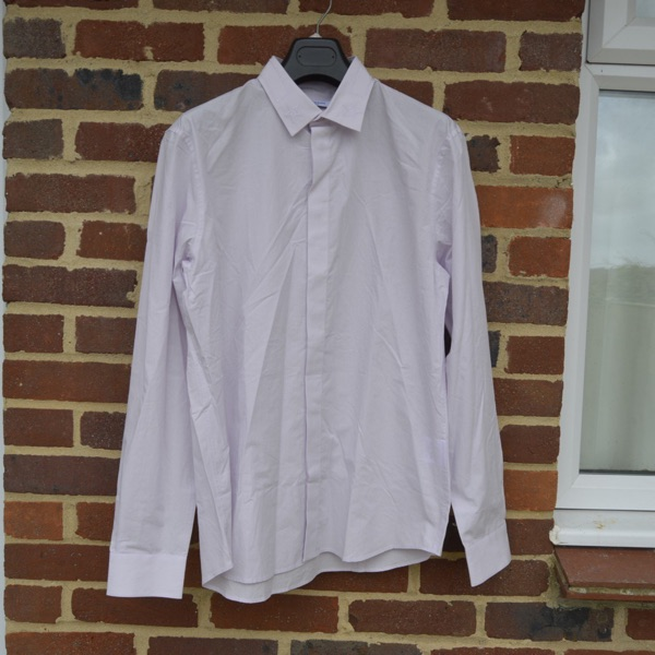 Givenchy Pale Pink Stars On Collar Shirt