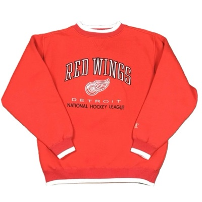 Vintage Logo Athletic Detroit Red Wings Crewneck