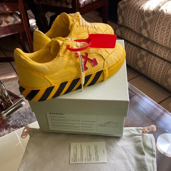 Off White Vulcanized Yellow