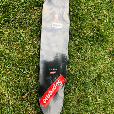 Supreme Motion Logo Deck Black