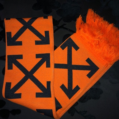 Off-White Arrows & Stripes Scarf 2018