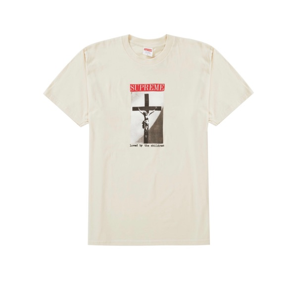 Supreme Loved By The Children Tee Natural