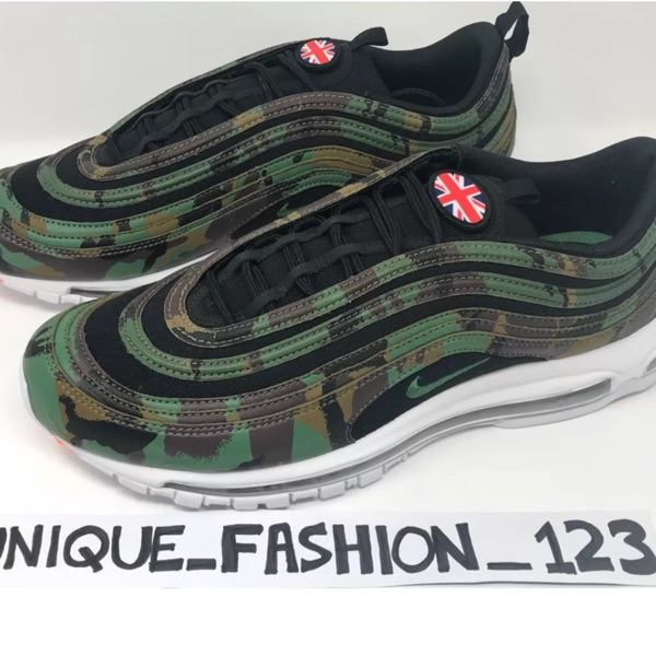 Nike Air Max 97 Uk Country Camo Pack Qs