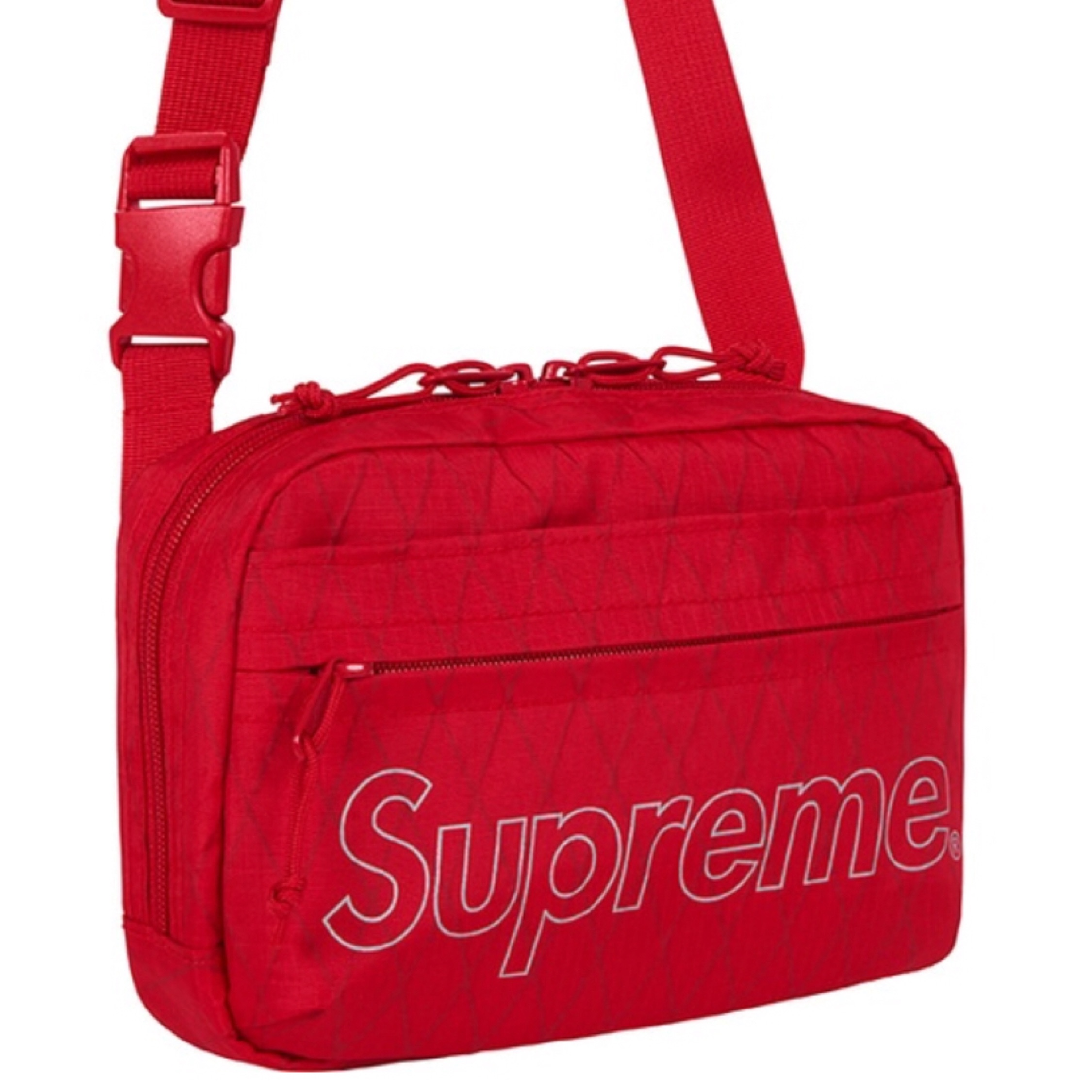 FW18 Ready To Ship NEW Supreme Shoulder Bag-Red