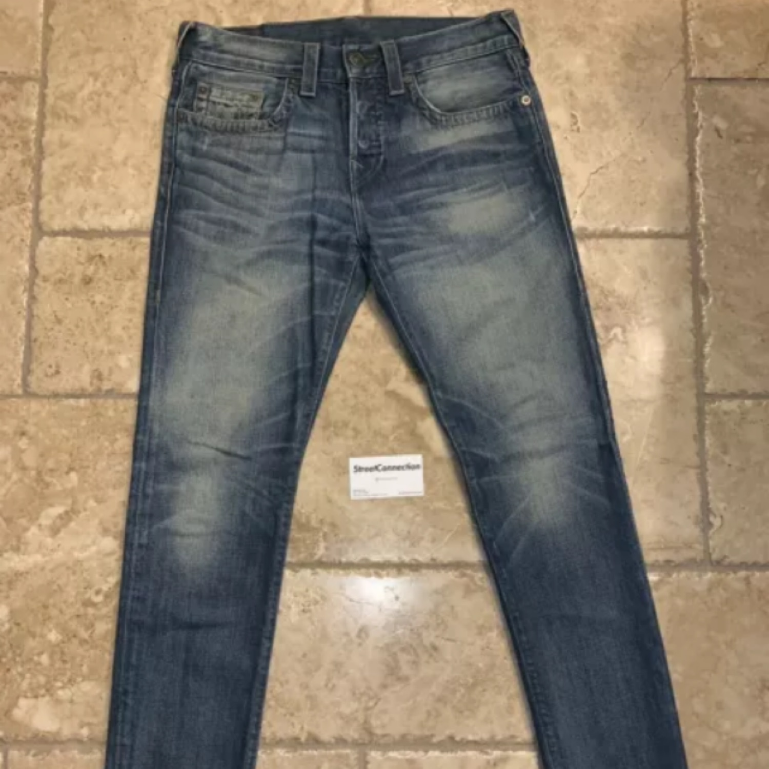 True Religion 2015 Sean Modern Tapered Jeans