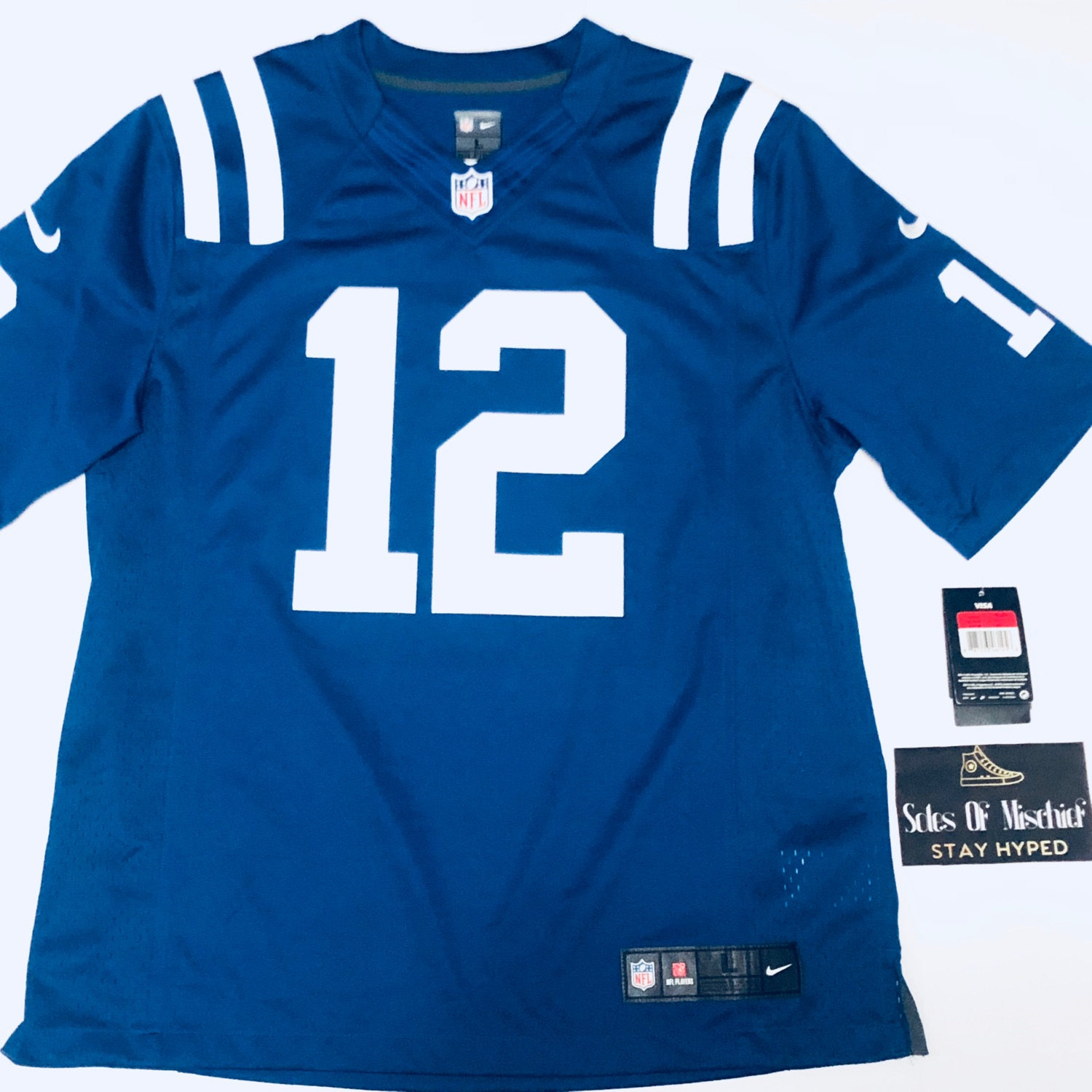 los angeles c3d95 c104d Indianapolis Colts Andrew Luck Nike Jersey