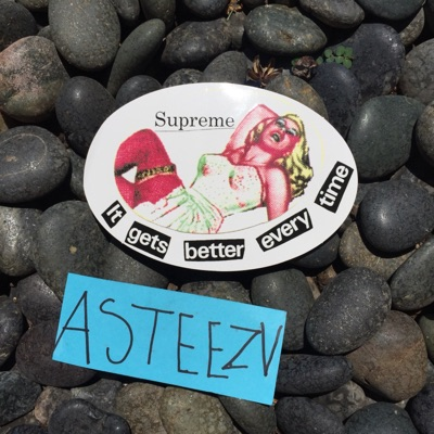 """Supreme """"It Gets Better Every Time"""" Ss19 Sticker"""
