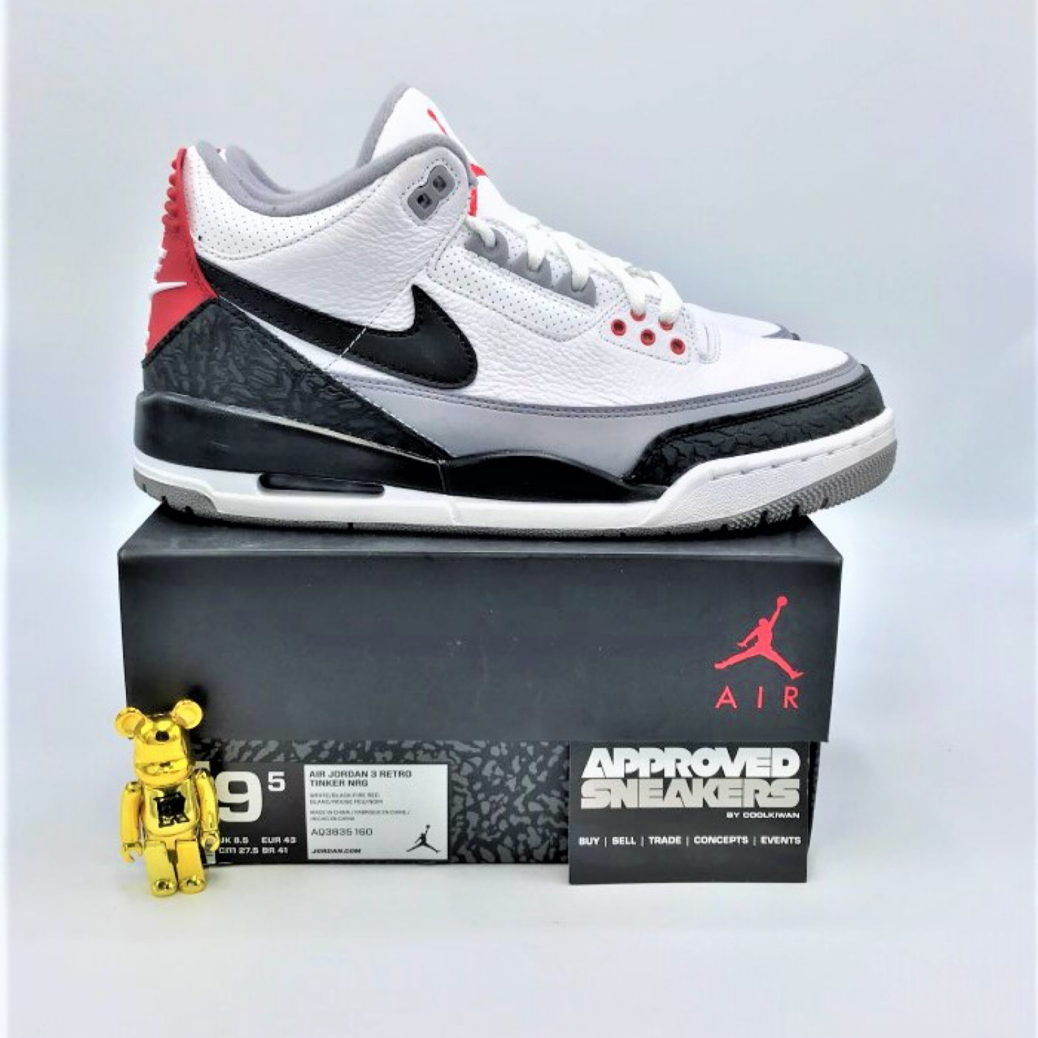 check out 575b8 53456 Nike Air Jordan 3 Retro Nrg Tinker