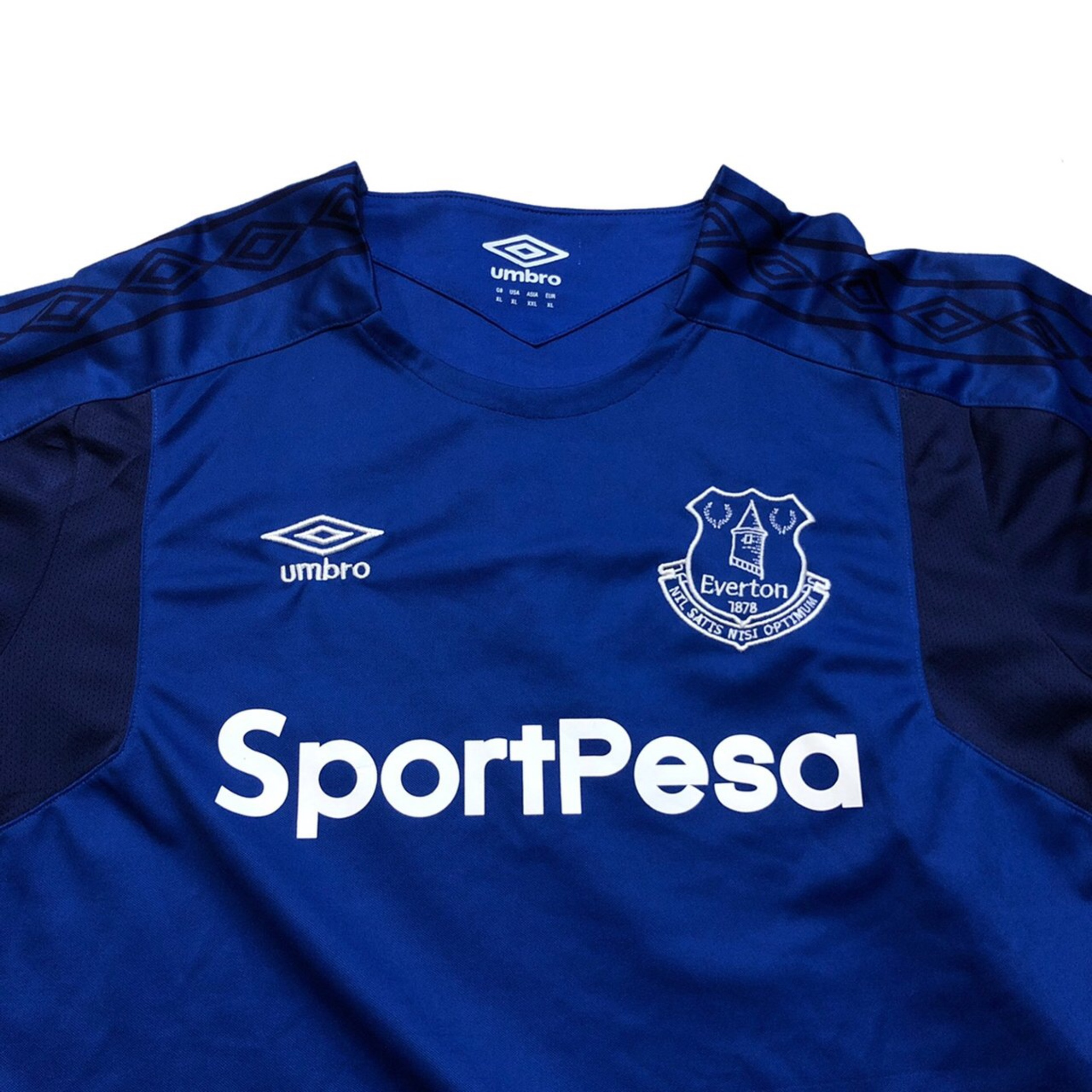 cheap for discount 67624 cf395 Official Umbro Everton Soccer Jersey