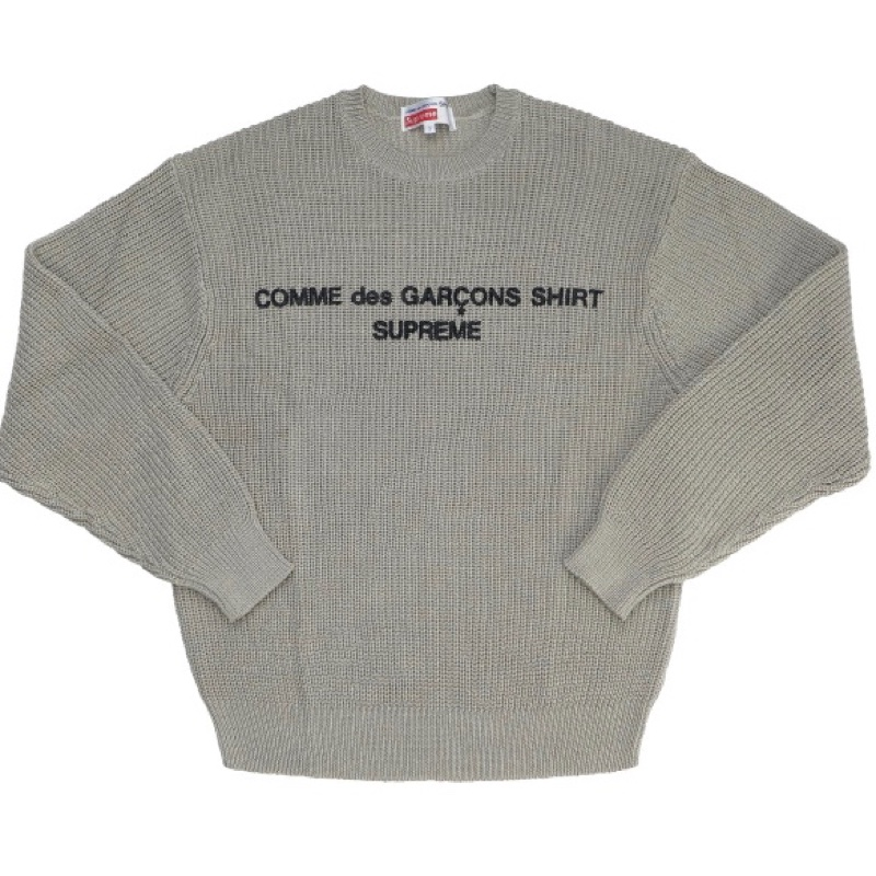 CDG SHIRT X Supreme Knit Sweater