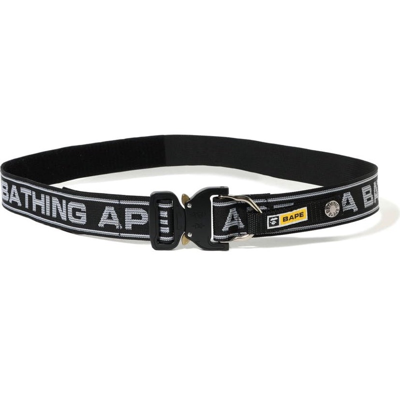 BAPE Logo Belt Black