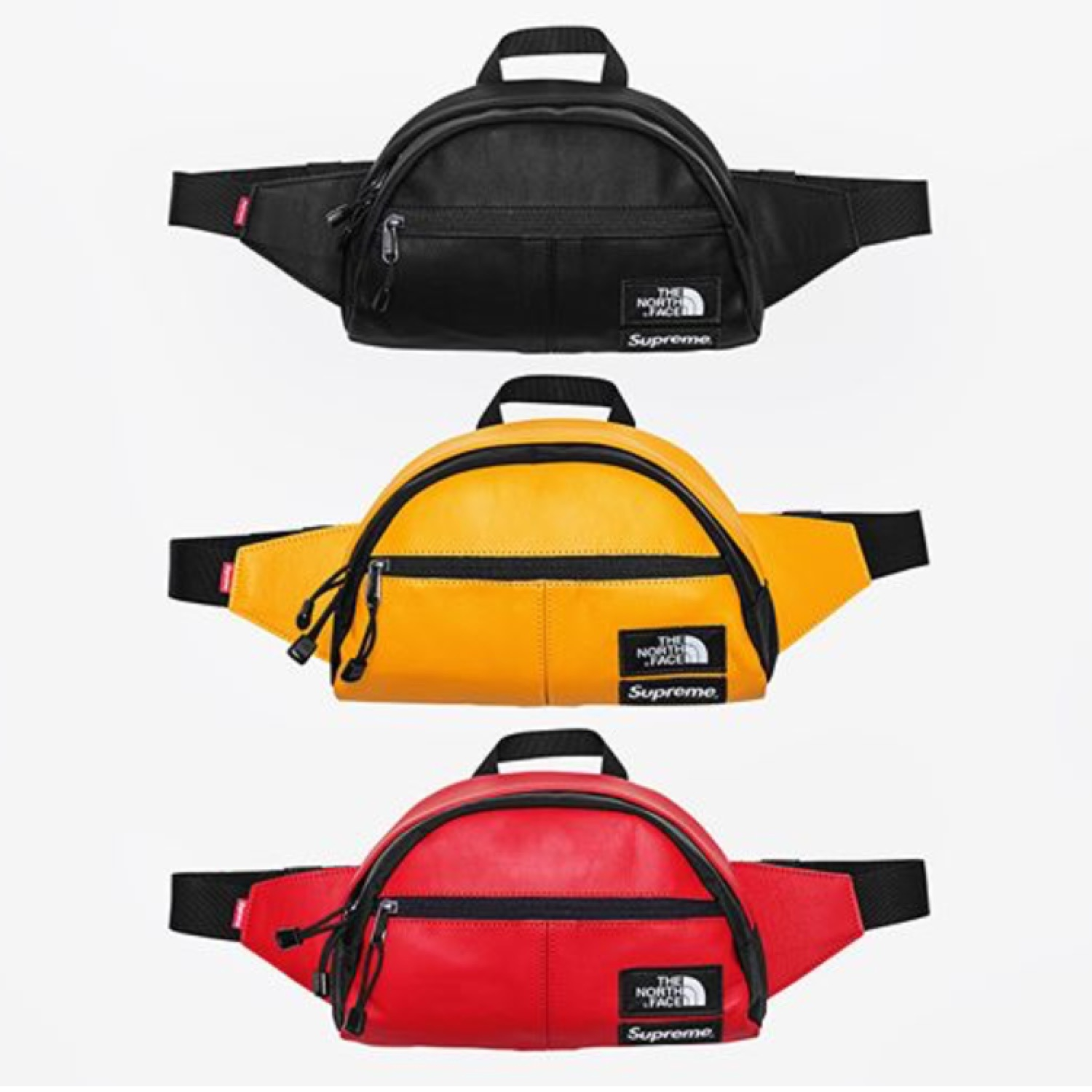 8f1a39d18 Supreme X Northface Leather Roo Ii Lumbar Pack