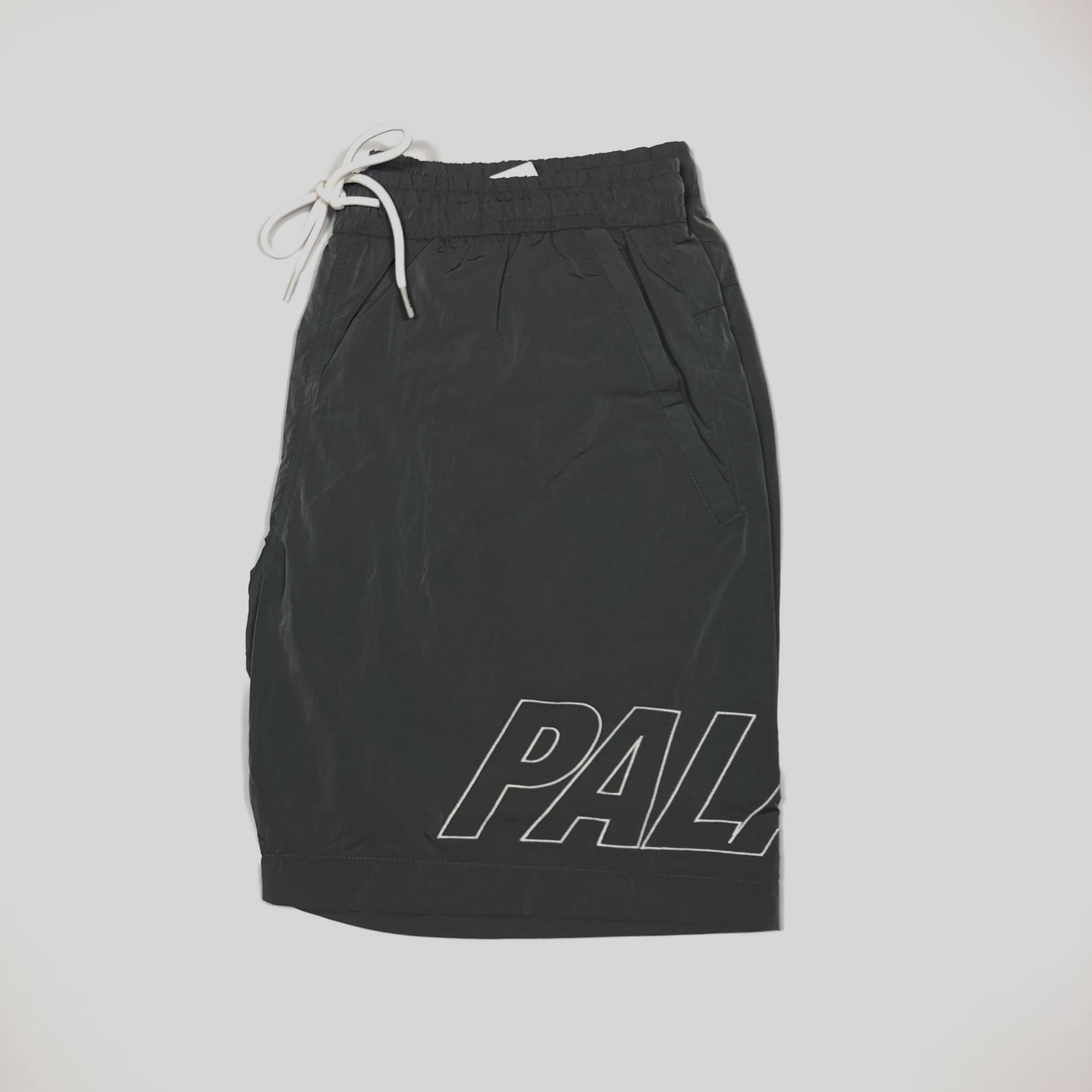 5f83c0d58410 Palace Iri Decent Swimshorts Grey Large New