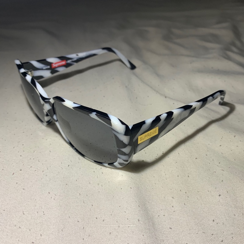 Supreme Royce Sunglasses Zebra