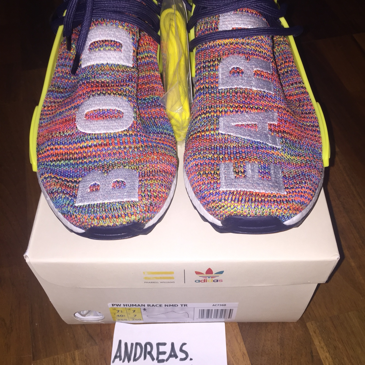 competitive price 24afc 5a6b6 Adidas Pharell Williams Human Race Nmd Multicolour