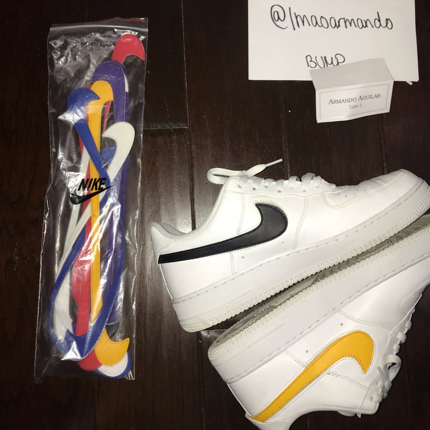 Nike Af1 Swoosh Pack(All Customizable