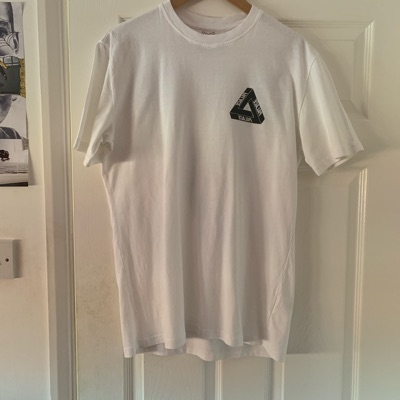 Palace x Dover Street Market Special Anniversary T-Shirt White/Glow