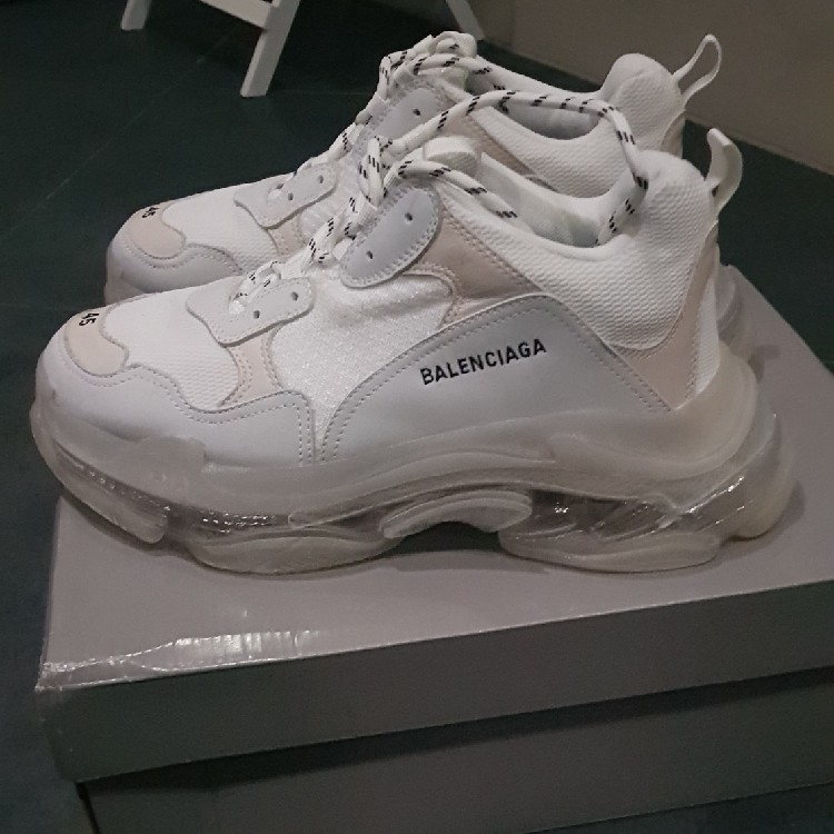 Balenciaga Triple S Clear Sole size 45 MEN TRANSPARENT