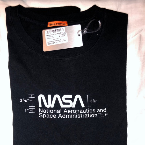 Heron Preston Nasa Tee