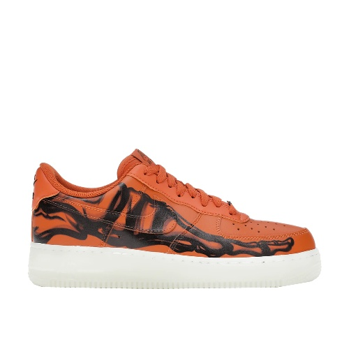 Nike Air Force 1 Low Orange Skeleton