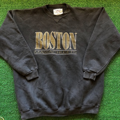 Vintage Boston Massachusetts Crewneck Sweatshirt