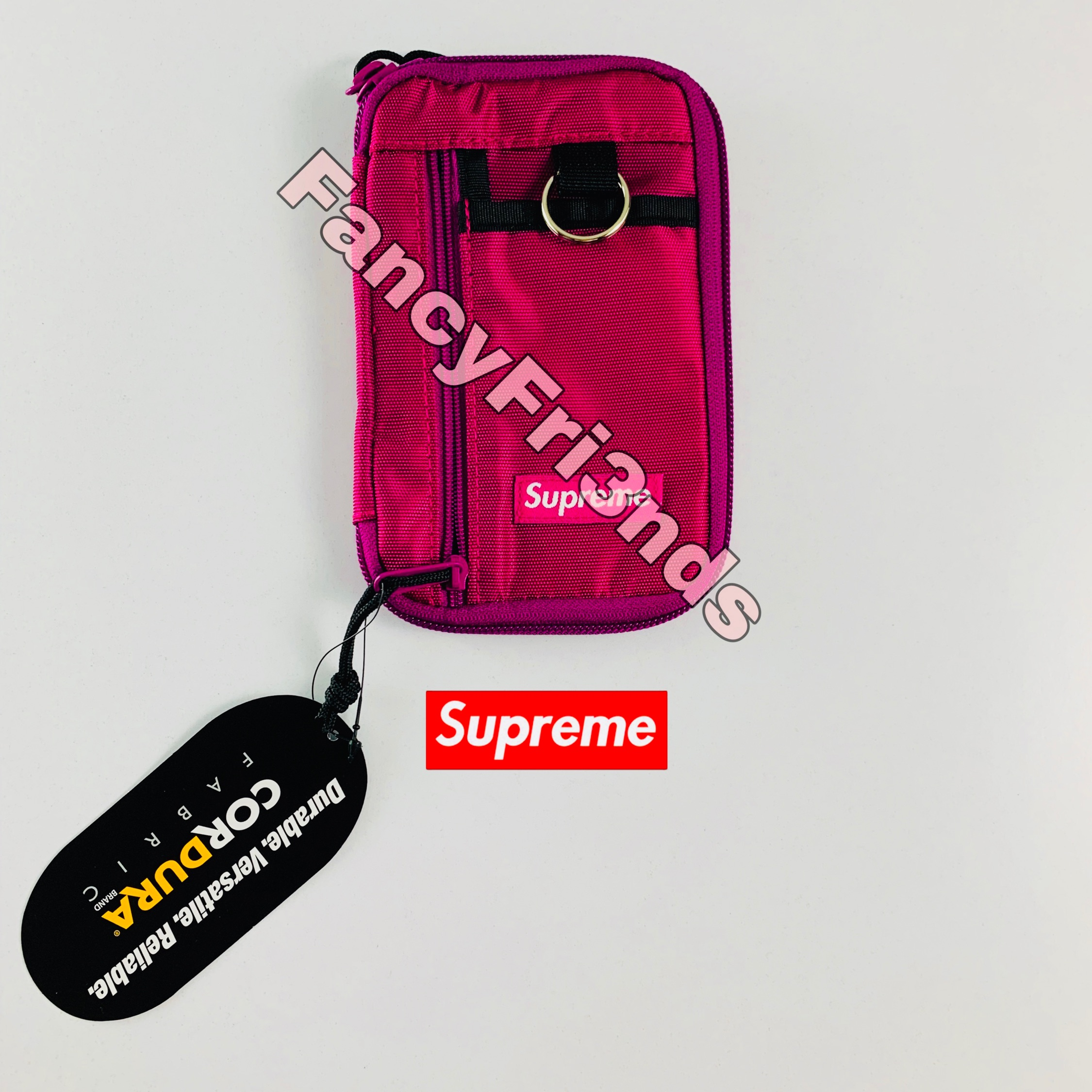 Supreme Small Zip Pouch Magenta