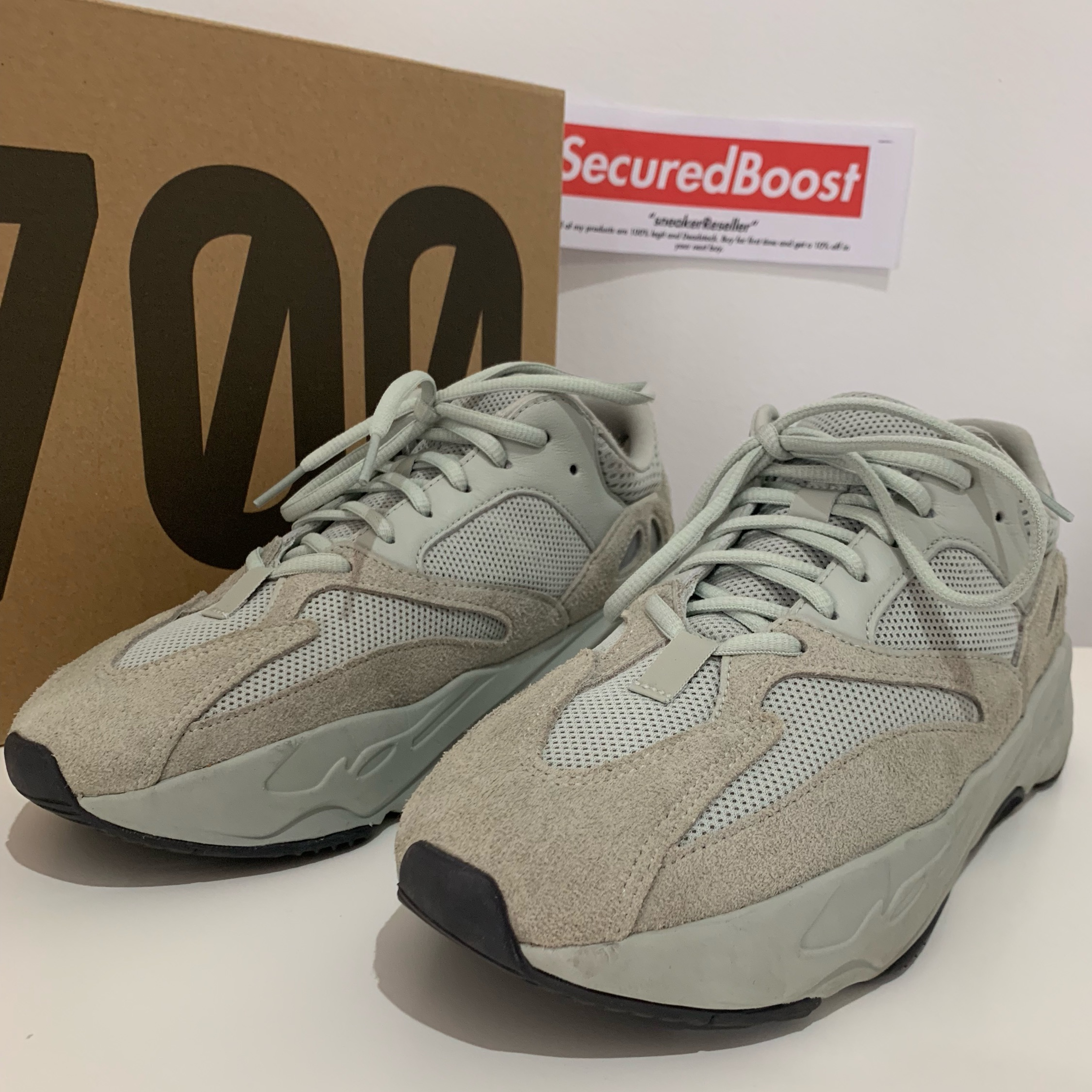 low priced 24877 d1a56 Adidas Yeezy Boost 700 'Salt' Size Us9.5