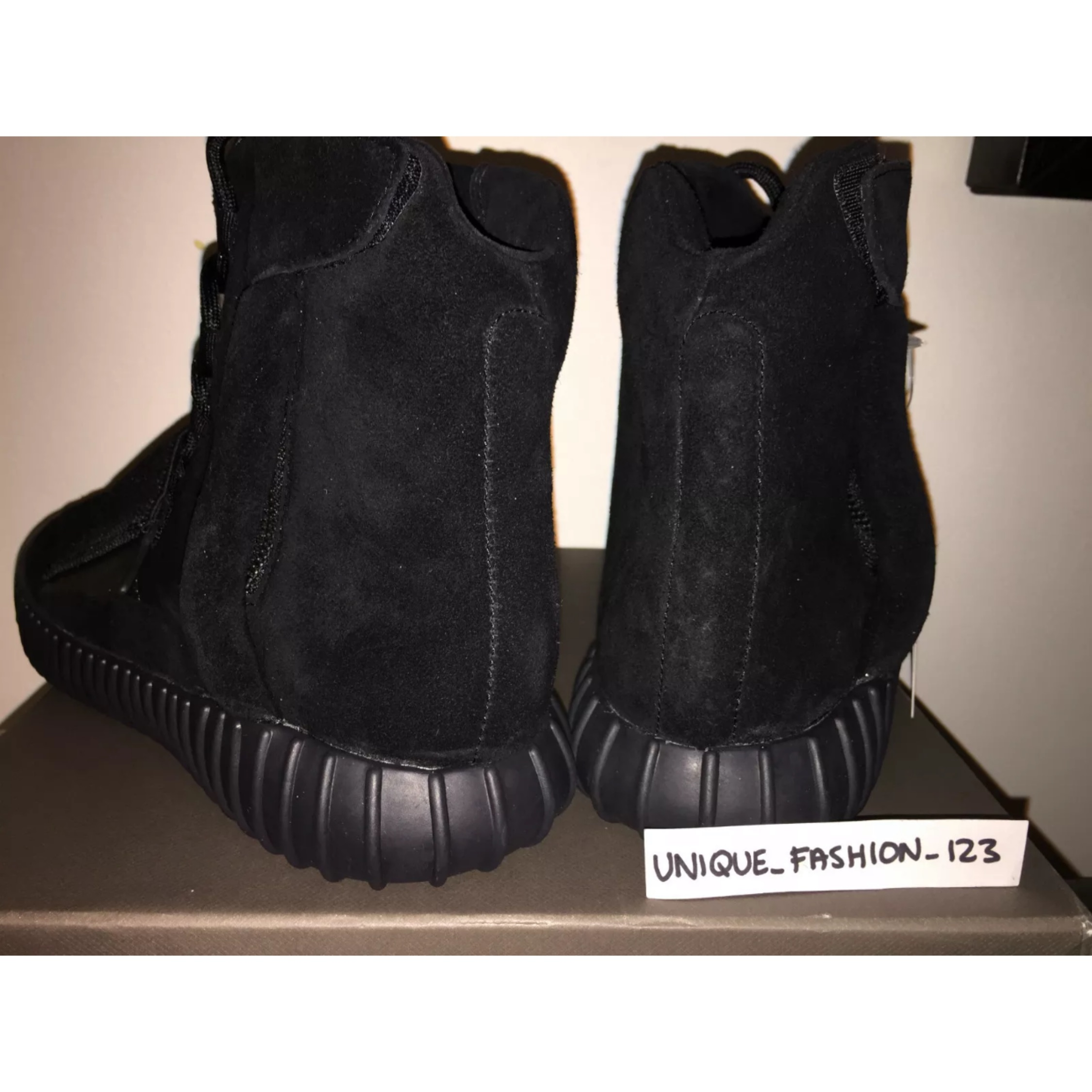 uk availability 8d669 e866a Adidas Yeezy Boost 750 Triple Pirate Black