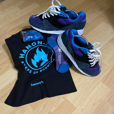Saucony Shadow Master 'Hanon Midnight Runner' 2013