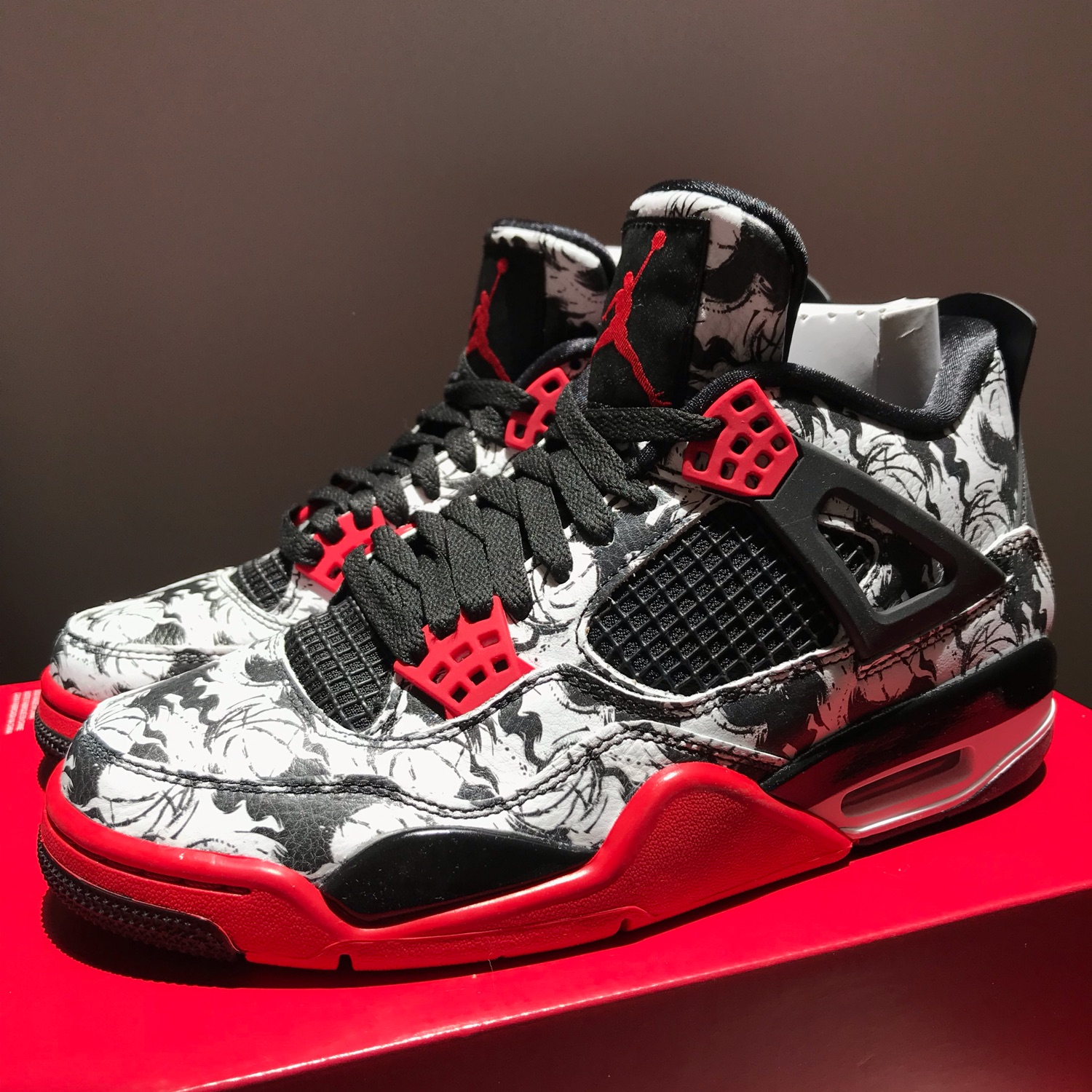 detailing details for quality products Nike Air Jordan 4 Retro Tattoo Singles Day