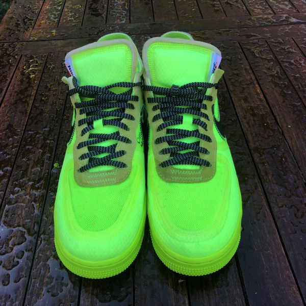 Nike X Off White Air Force 1 Low Volt