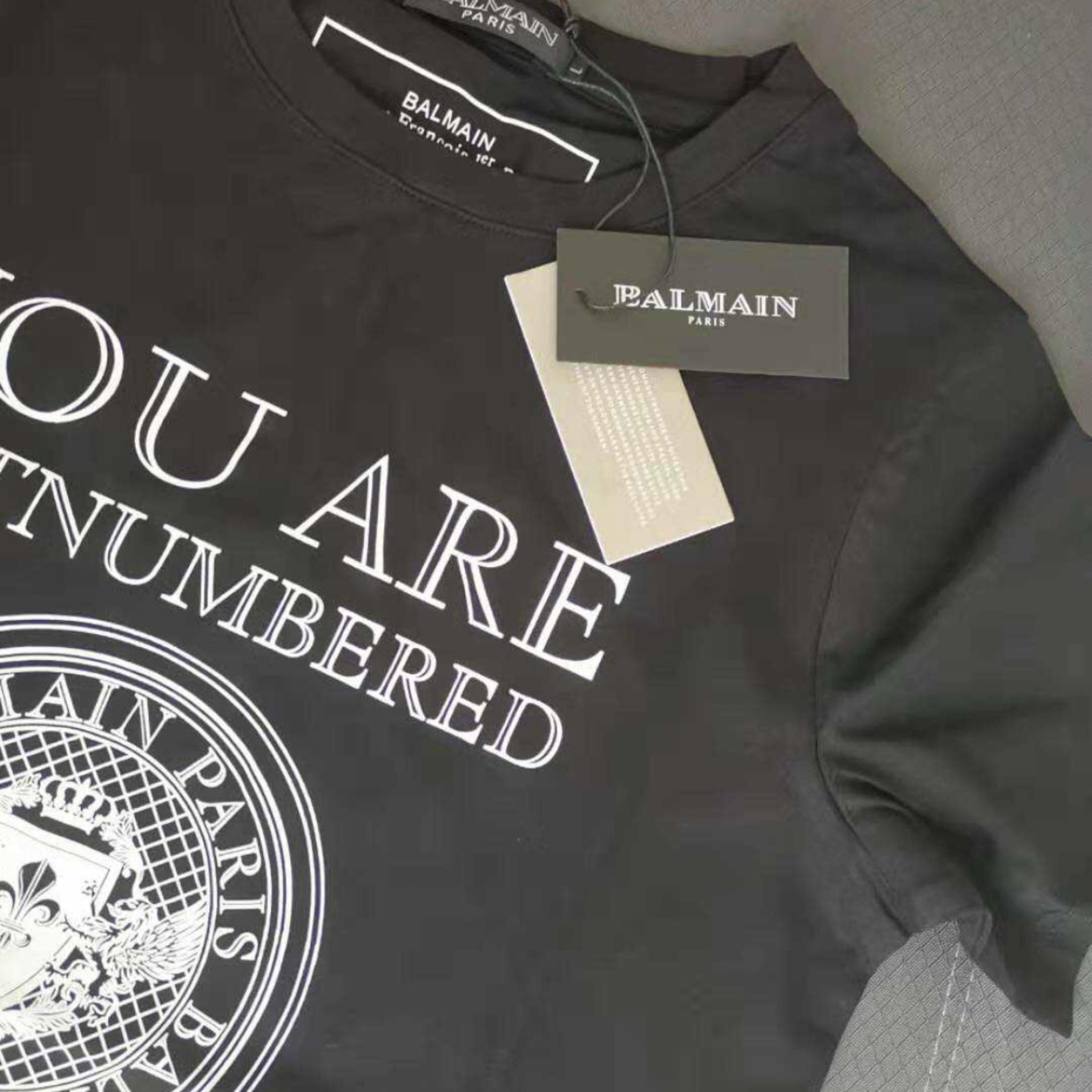 classic style outlet on sale free shipping Balmain Men's T-Shirt With Authenticity Tags