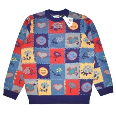 Palace Love Dove Multicolor Knit Sweater Ds