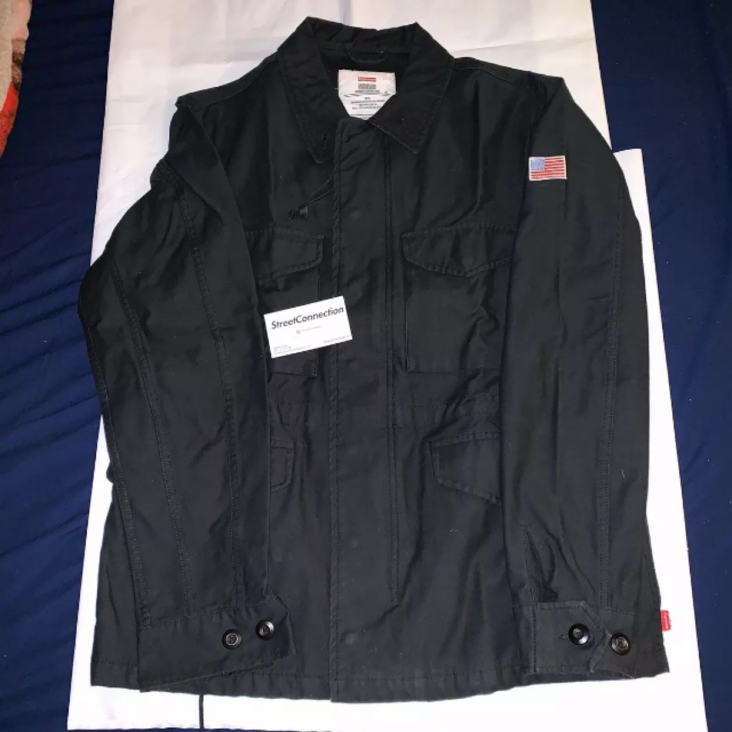 Supreme Ss10 M-51 Jacket Black