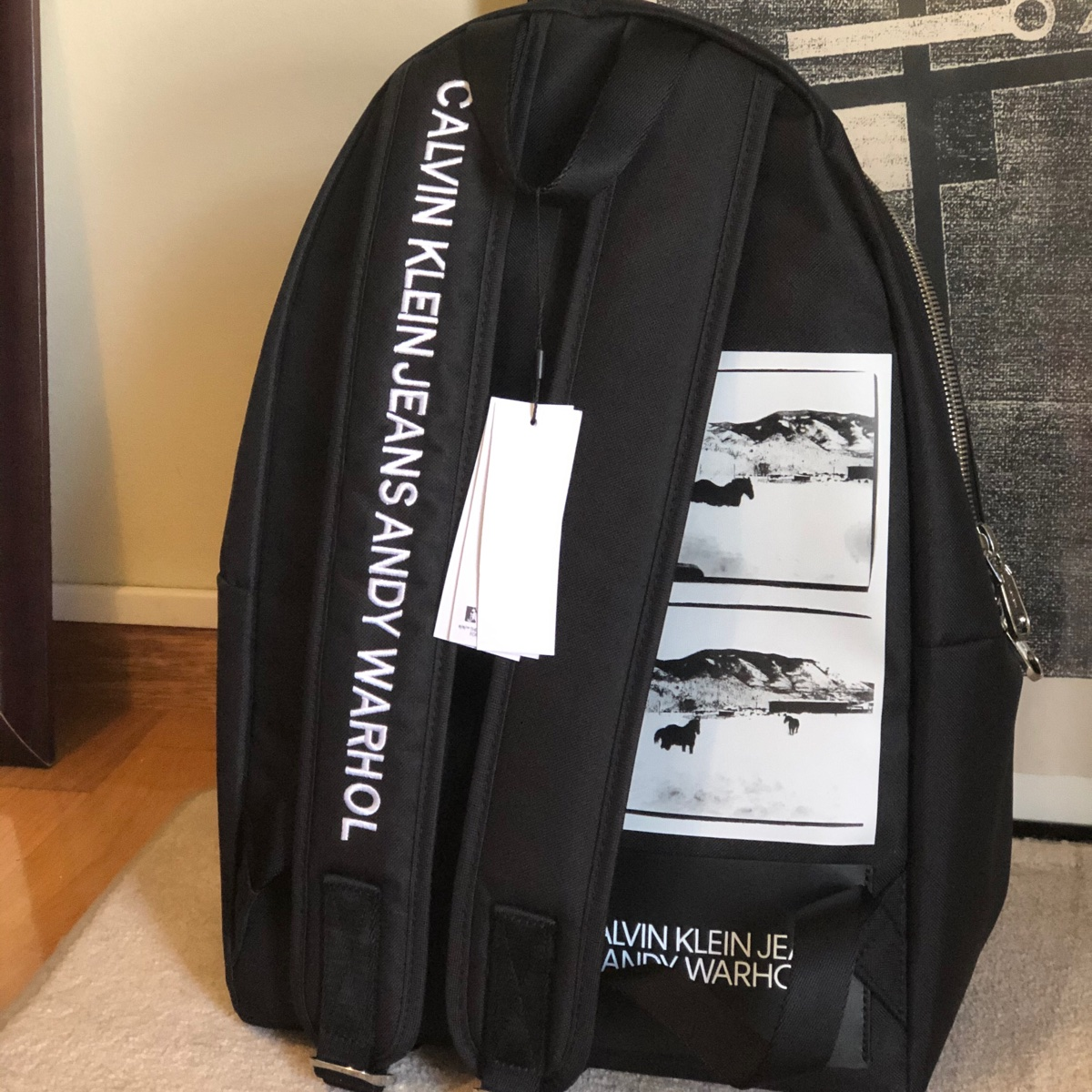 Calvin Klein By Raf Simons X Andy Warhol Backpack