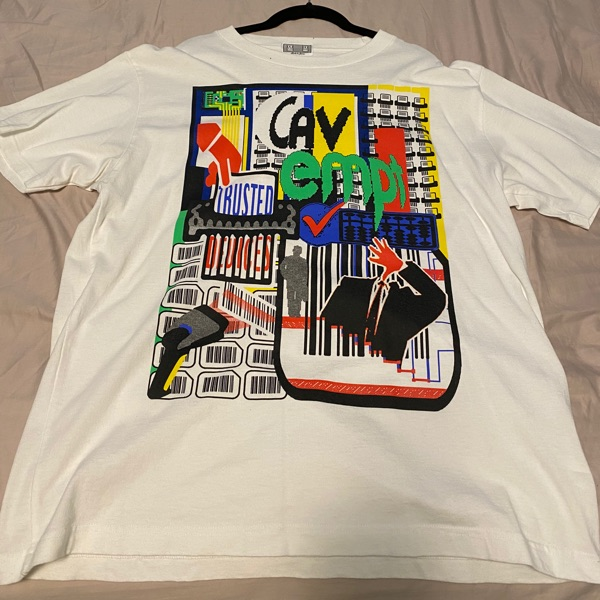Cav Empt Men's White Trusted Devices T-Shirt