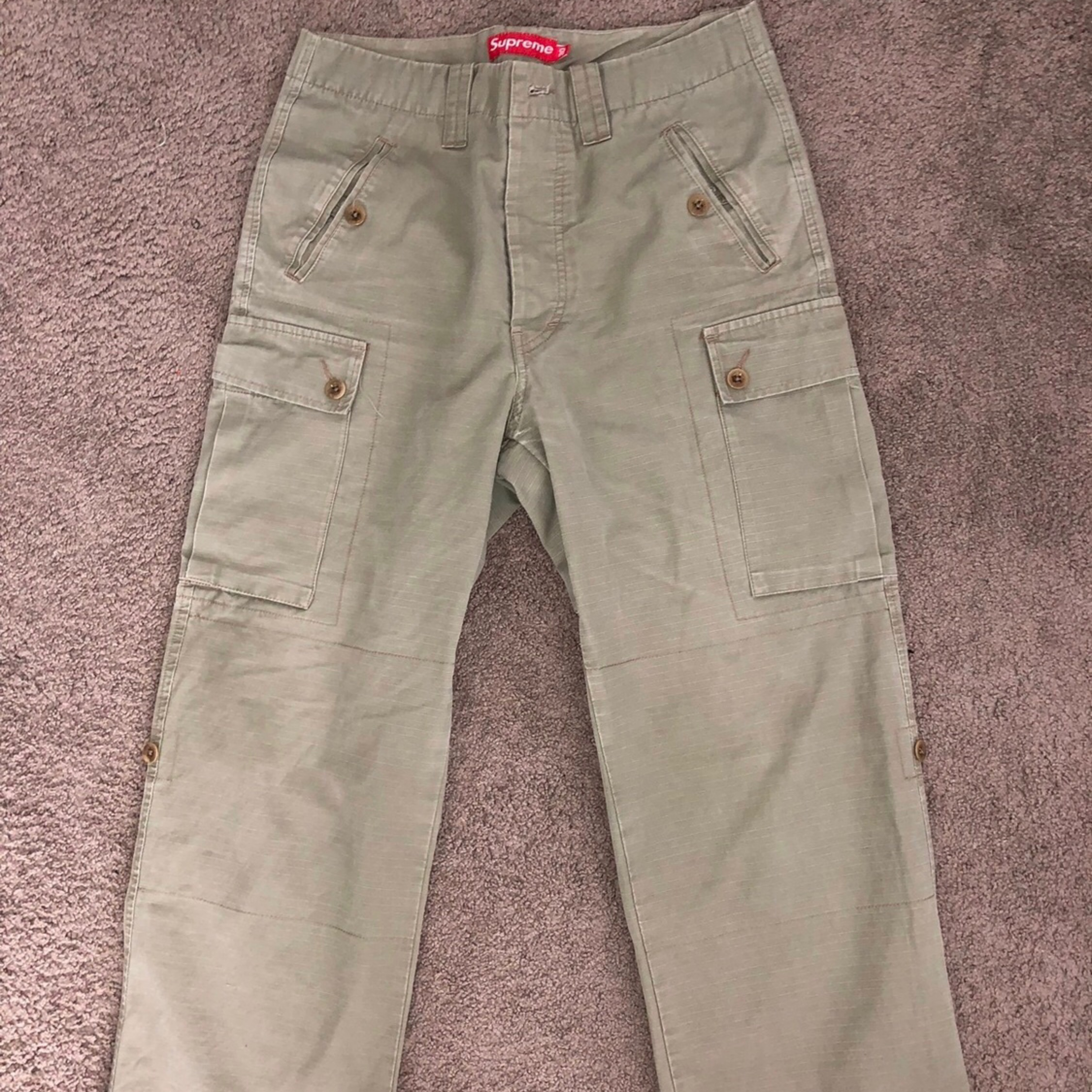 release date double coupon top-rated professional Supreme Cargo Pants