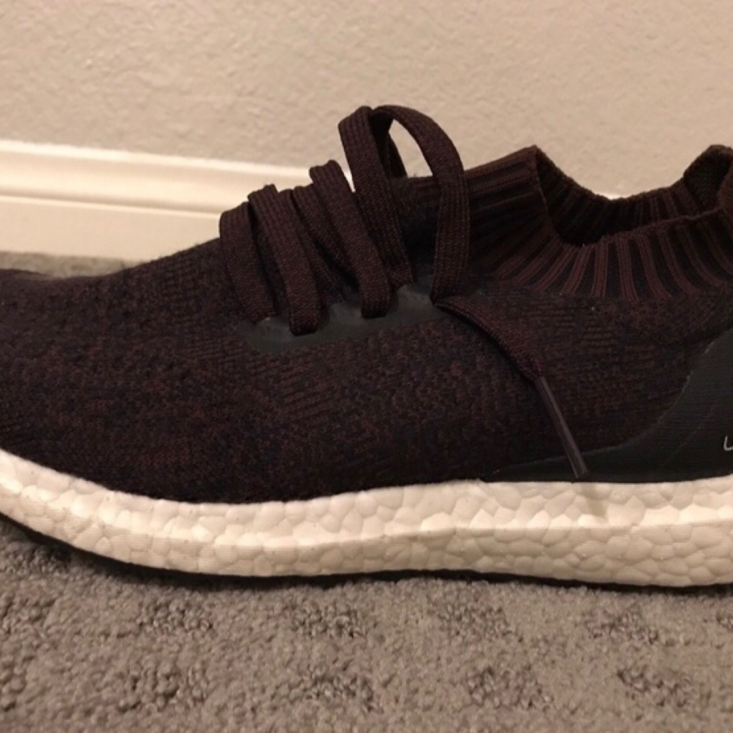 newest 19859 bcc37 Adidas Ultra Boost Uncaged Burgundy 8.5 Men's