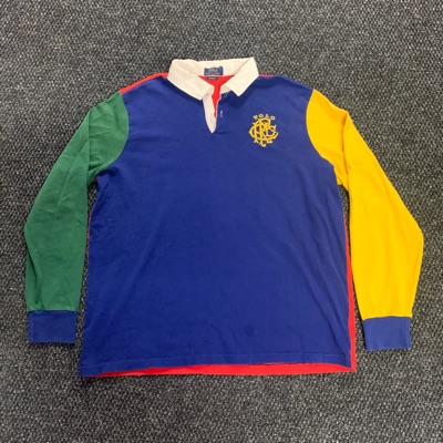 Polo Ralph Lauren Colorblock Rugby Shirt Xxl