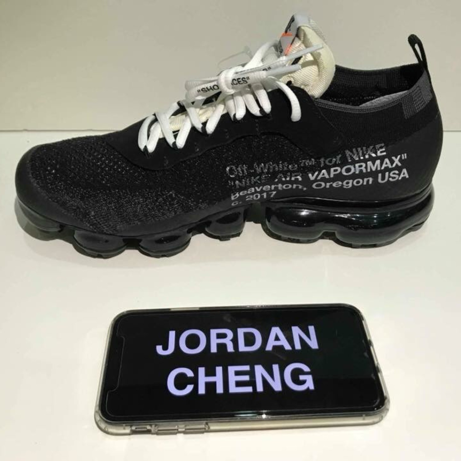 "info for c09c1 5b7a0 Nike Air Vapormax Flyknit Off White ""The Ten"""