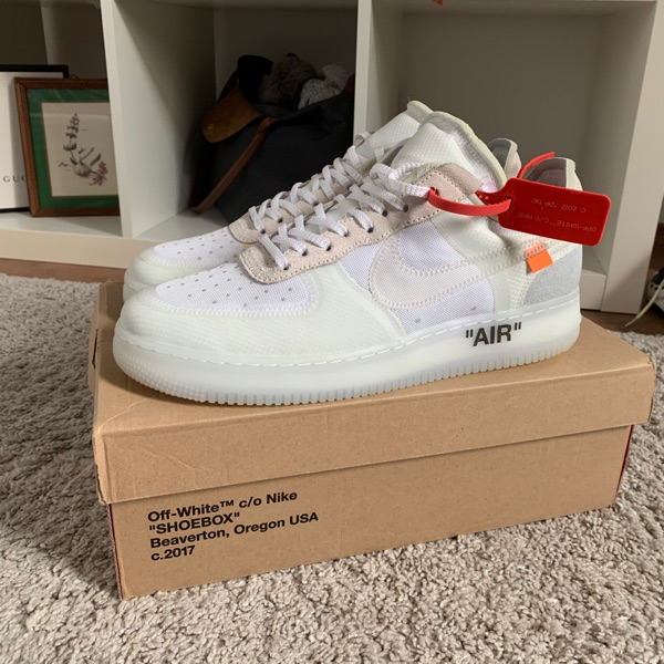 Nike Air Force 1 Low Off-White 'The Ten'