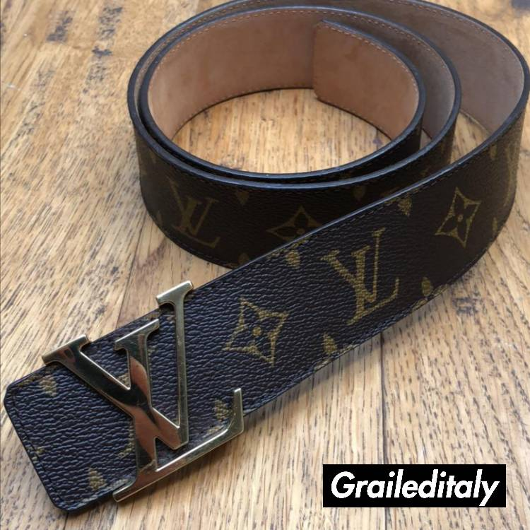 1c736e009c82 Louis Vuitton LV INITIALES 40MM Monogram Leather Belt