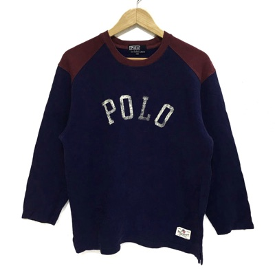 Vtg Polo Ralph Lauren Sweatshirt Sport Usa Olympic