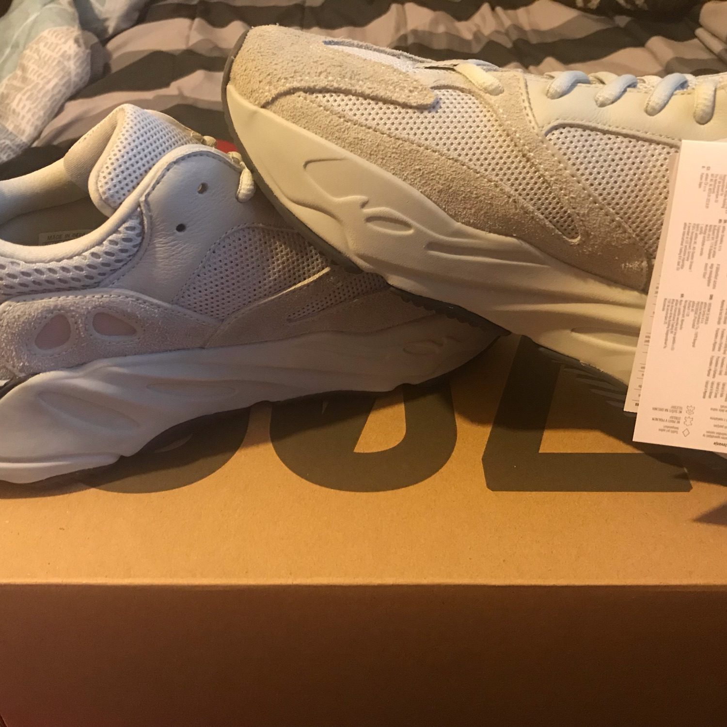 new arrivals ece2a 00c17 Yeezy 700 Salt (Sold To Goat)